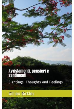 Avvistamenti, pensieri e sentimenti (Sightings, Thoughts and Feelings) (English / Italian)