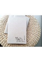 Paperback Pocket Notebook with illustrations of CUHK 中大貓 & 檸檬批 多用途小型筆記本(內附中大校園插畫)