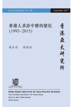 Changes in the Utilization of Chinese Medicine in Hong Kong (1993−2015)